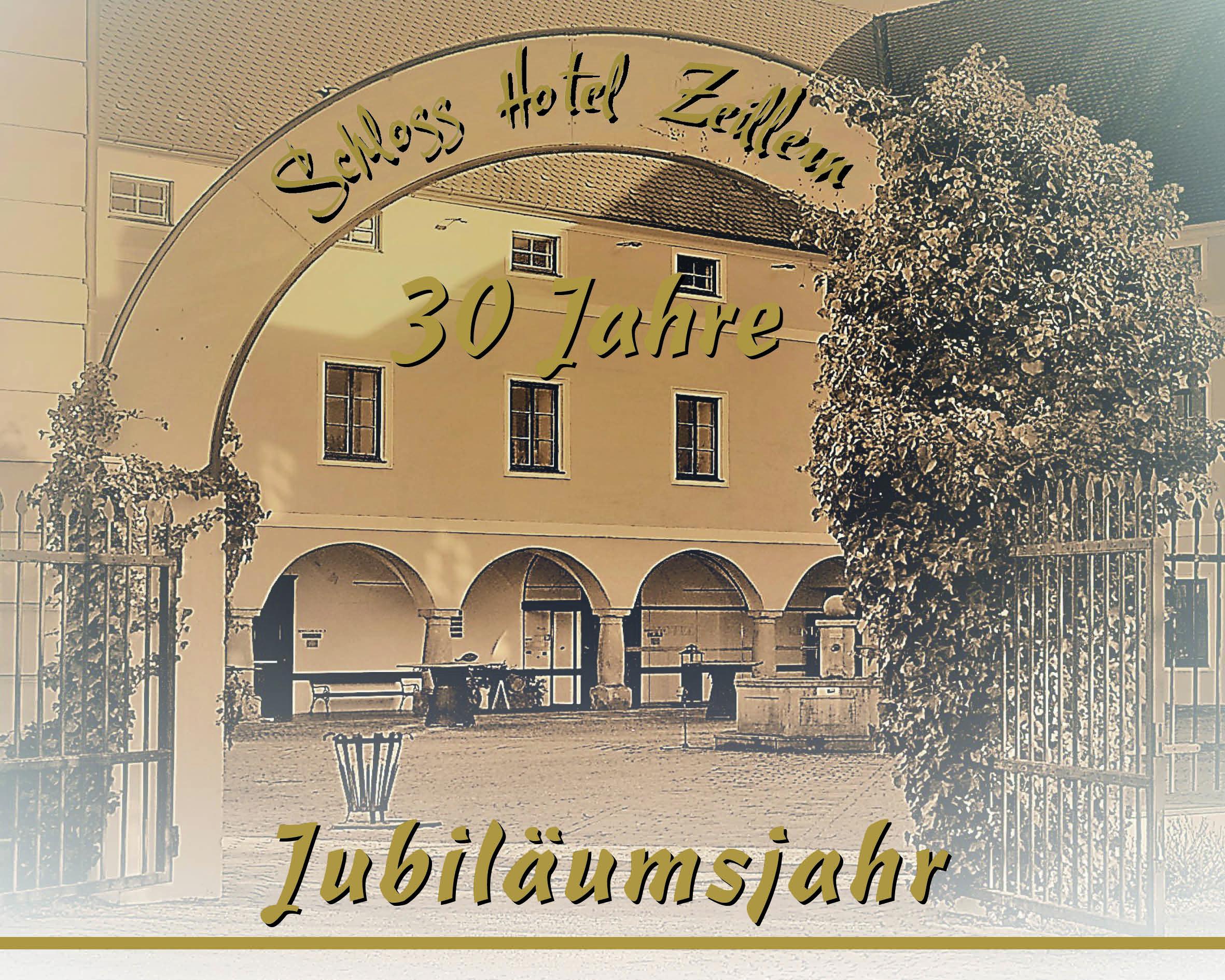 """Bild zum 30jährigen Jubiläum des Seminarhotel Zeillern - das """"Schloss Hotel Zeillern"""""""