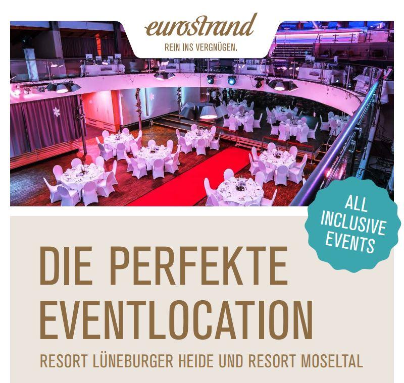 Eventhalle im Tagungshotel Lüneburger Heide und Tagungshotel Moseltal