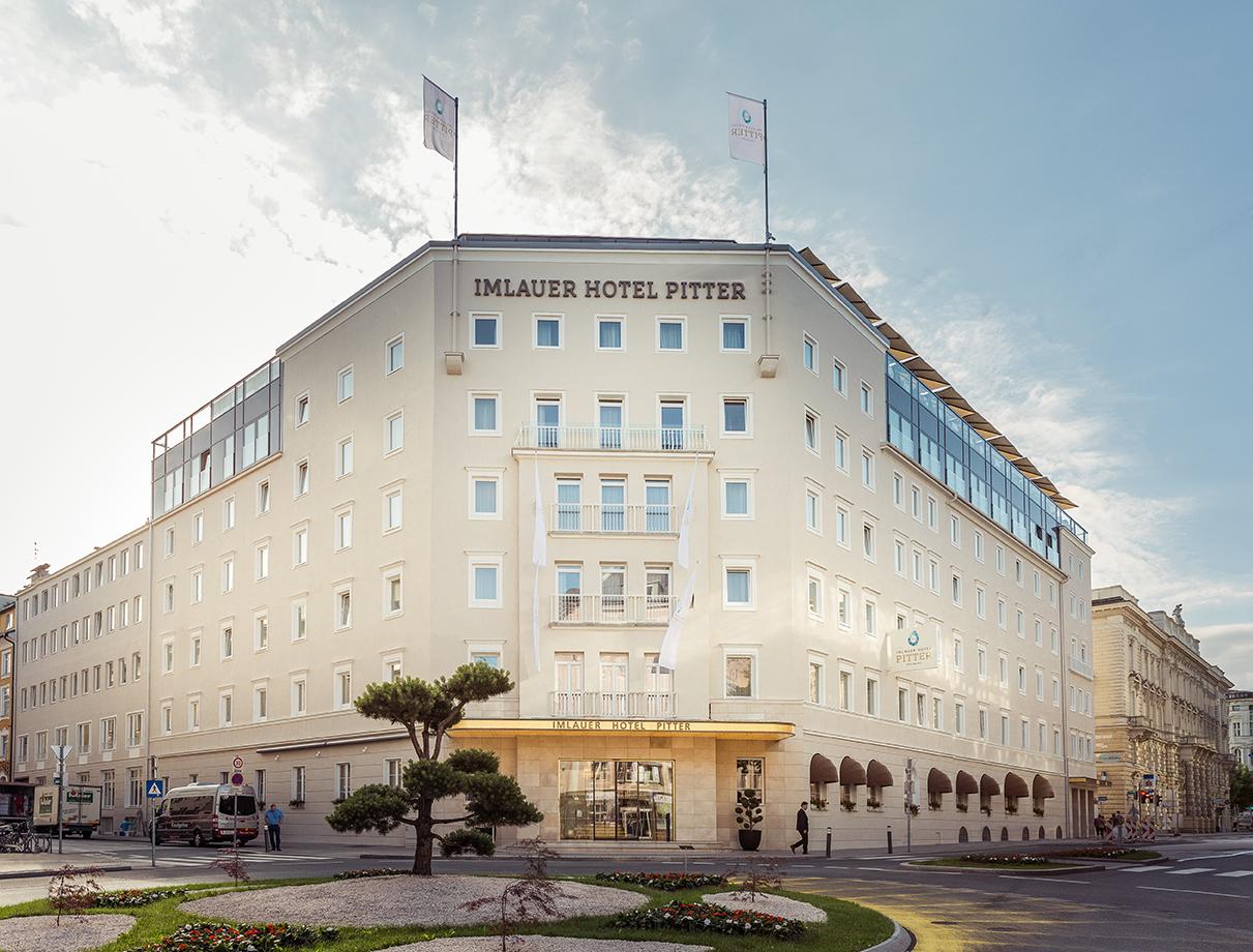 Außenansicht des Seminarhotel Salzburg, Imlauer Hotel Pitter Salzburg