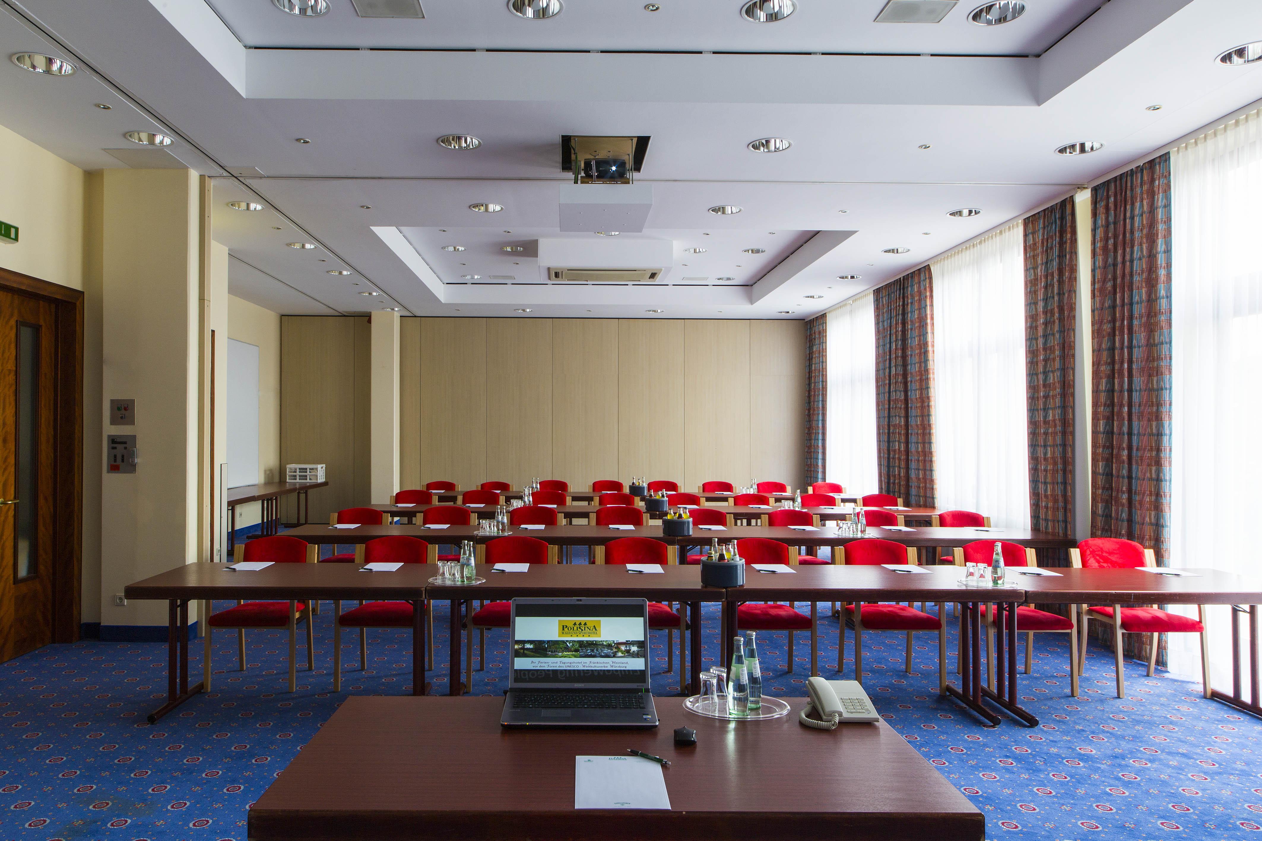 """Seminarraum im Tagungshotel Würzburg, dem """"Best Western Hotel Polisina"""""""