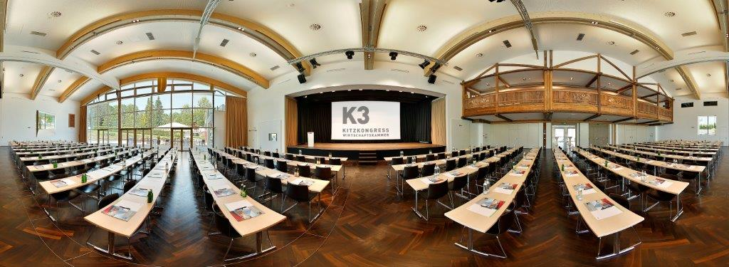 K3 KitzKongress-Plenumsaal Palladium