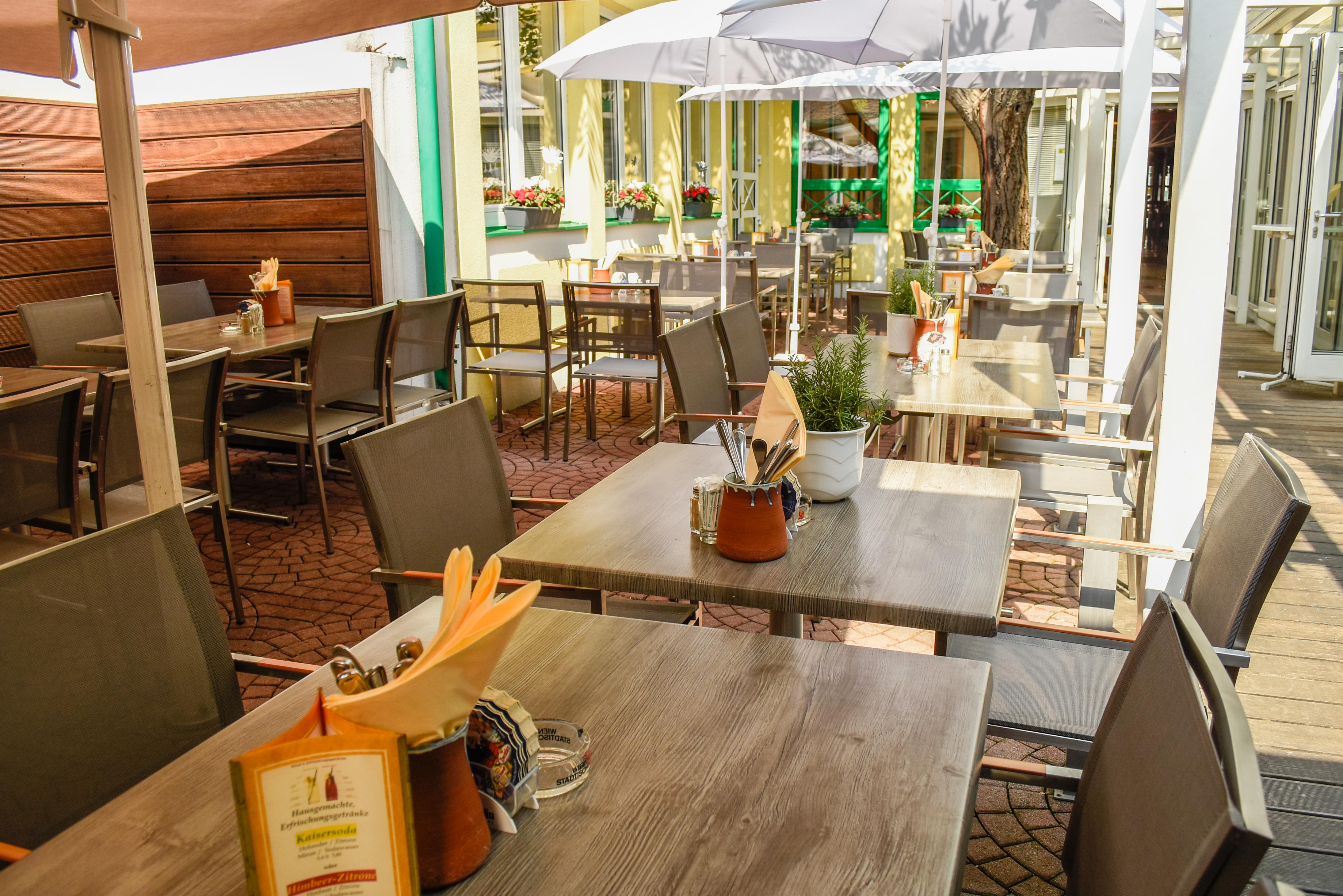 Amon´s Gastwirtschaft-Innenhofgarten