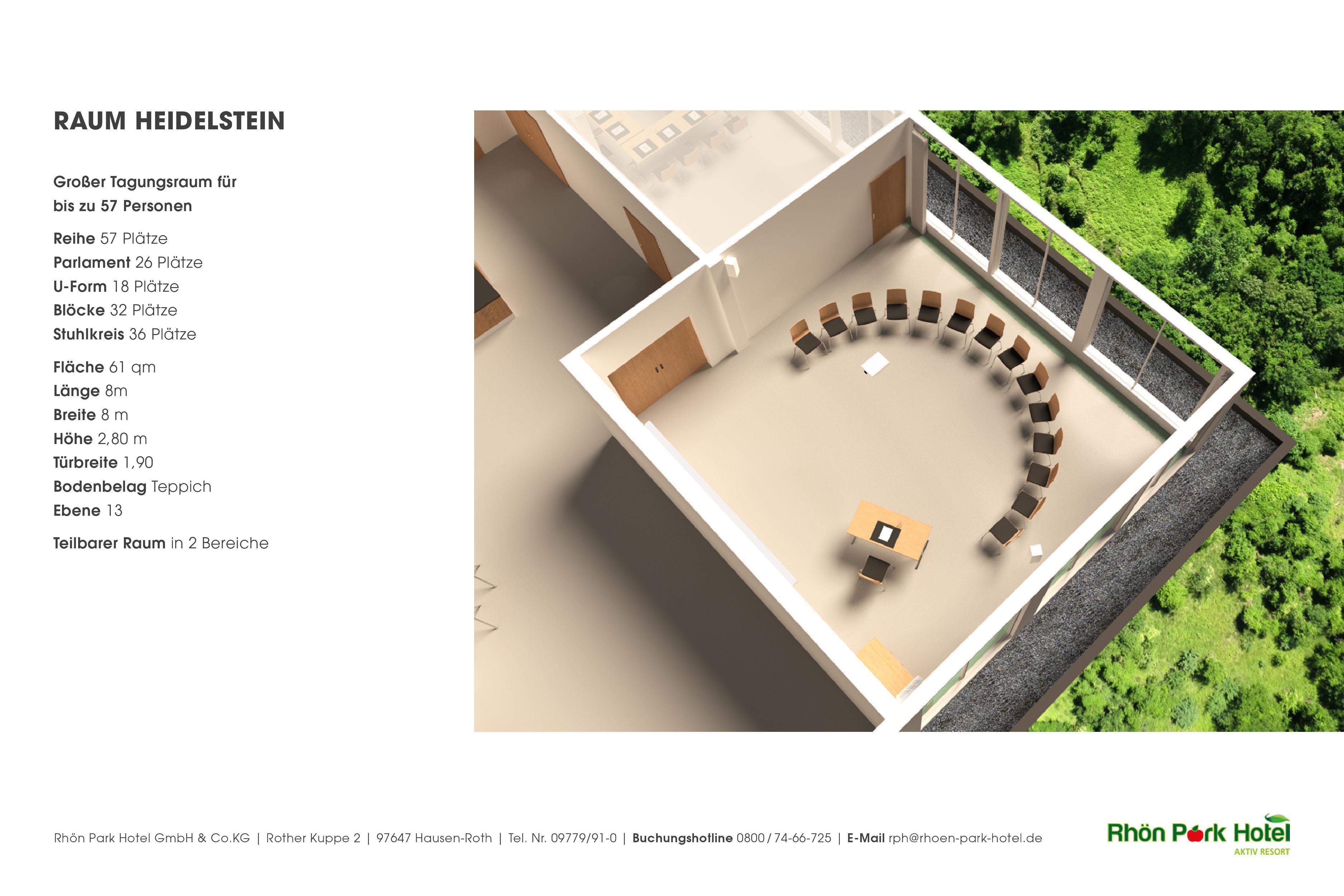 Rhön Park Hotel-Tagungsraum Heidelstein 3D-Ansicht | Rhön Park Hotel
