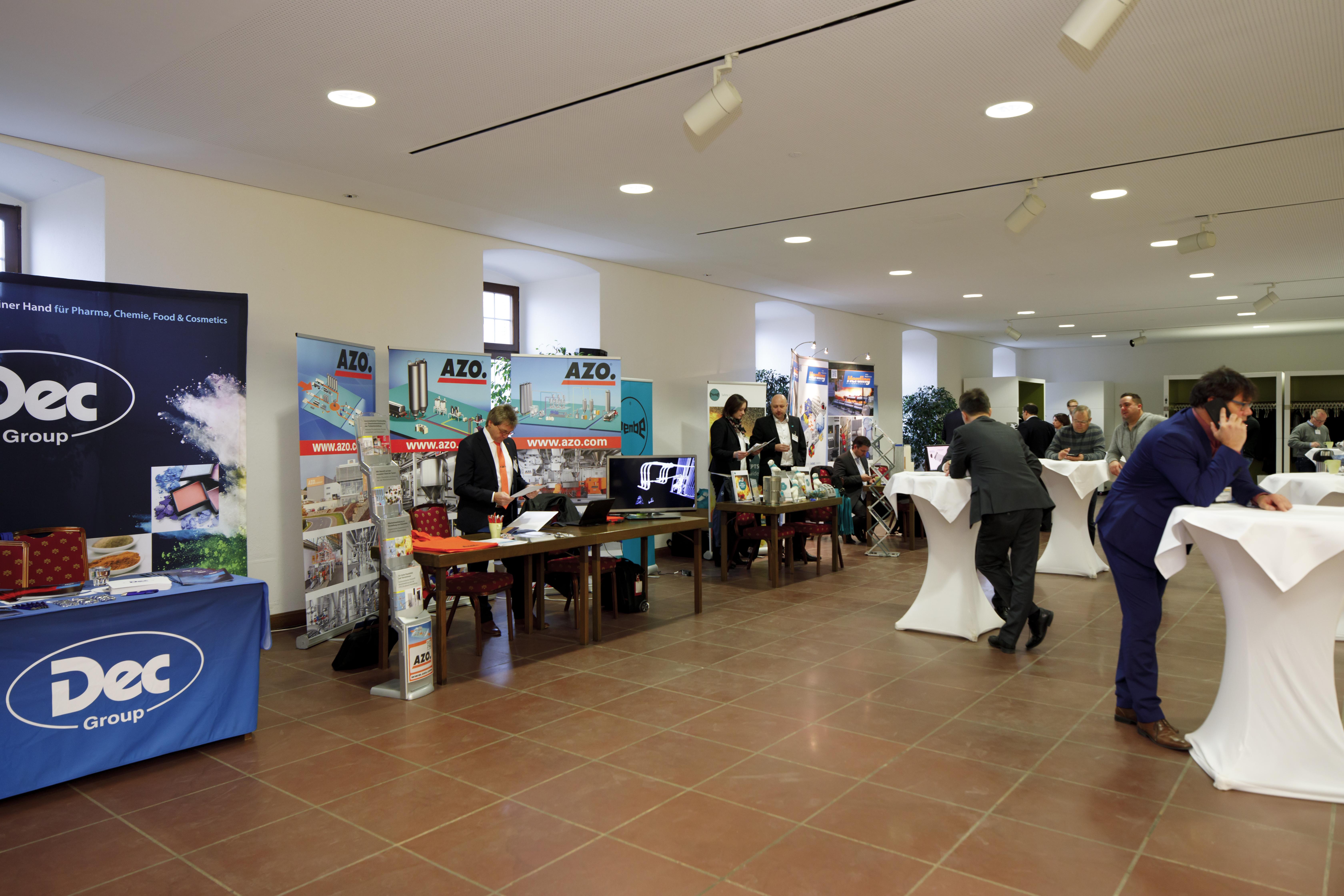 Tagungszentrum Festung Marienberg-Tagungszentrum Festung Marienberg, Unteres Foyer (c) CTW_A. Grasser